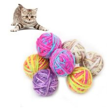 6 Pcs/lot Pet Durable Ball Toys for Cats and Puppy Exercise Toys with Bells