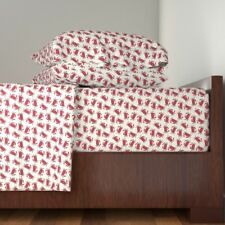 Crab Red Crab Ocean Life Ocean Sea 100% Cotton Sateen Sheet Set by Roostery