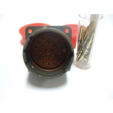 M81511/41WG03P2 Deutsch  Aircraft Connector Gold Contacts Mil Spec Aviation