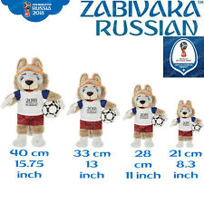 Plush Toy 2018 World Cup Russia Zabivaka Wolf Soccer Licensed Official Mascot