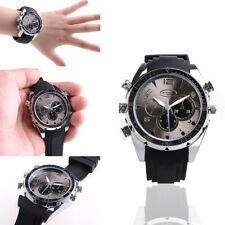 1080P HD Waterproof Spy Wrist Watch Mini Hidden Video Camera Cam Camcorder 32GB