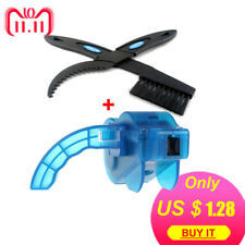 Bicycle Chain Cleaner Scrubber Brushes Mountain Bike Wash Tool Set Cycling