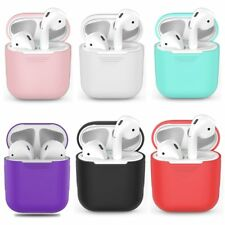 Soft Silicone Case For Apple Airpods Shockproof Cover For Apple AirPods