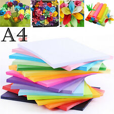 50 sheets 80gsm A4 Coloured Card Paper Making Craft Printer Copier Paper 7 Color