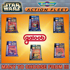 MICROMACHINES ACTION FLEET STAR WARS Damaged Card Battle Pack Series