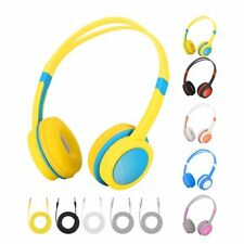 New Kids Safe Volume Limiting Headphones Over The Ear with 85dB Volume Limited