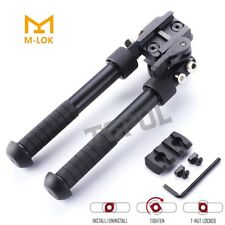 "4.75- 9"" Foldable Adjustable Bipod Combination for M-lok"