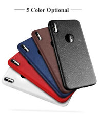 Ultra Thin Silicone Phone Cases For iPhone 6S 6 7 8 Plus Cover Leather Skin Soft