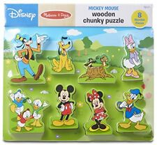 Melissa  Doug Disney Mickey Mouse Clubhouse Wooden Chunky Puzzle 8