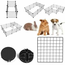 Storage Tool Easy Install Pet Playpen Fence Enclosure Yard Kennel Dog Cage
