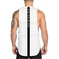 Men NO PAIN NO GAIN clothing bodybuilding stringer gyms tank top fitness singlet