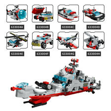 Guided-missile Destroyer Small Partical Puzzles Building Blocks Toy for Childen