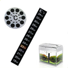 Fish Tank Tool Celsius/Fahrenheit  Thermograph Thermometer Sticker Temperature
