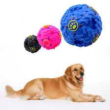Giggle Ball Pet Dog Squeaker Sound Training Chew Treat Holder Toy Food Dispenser