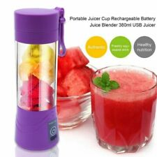Portable USB Blender Mixer Rechargeable Mini Juicer Juice Machine Smoothie Maker