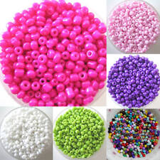 HK- ALS_ 1200Pcs 2mm Round Czech Glass Seed Spacer Loose Beads Jewelry DIY Makin