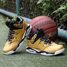 Men's High Top Basketball Shoes Cross Training Shoes Fashion Athletic Sneakers