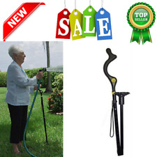 Campbell Posture Cane Walking Cane with Adjustable Heights Hiking Poles Crutches