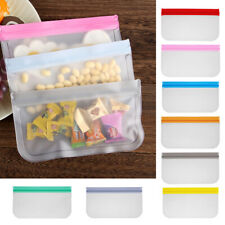 Containers BPA Free PEVA Fresh Bag Ziplock Pouch Food Storage Bag Silicone