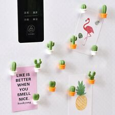 6pcs Cactus Succulent Plant Fridge Magnet Refrigerator Sticker DecorGreat