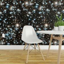 Wallpaper Roll Galaxy Space Stars Universe Outer Nebula Star Black 24in x 27ft