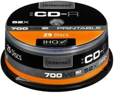 Artikelbild Intenso CD-R/ CD-RW CD-R 700MB 25er Spindel printable