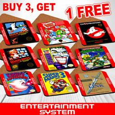 Nintendo Entertainment System NES Game, Box Art, Wood Coasters Square 4mm