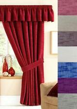 STAMFORD LUXURY LINED DOOR CURTAINS - 6 Colour Choices