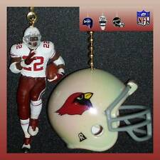 NFL ARIZONA CARDINALS FIGURE & CHOICE OF FOOTBALL HELMET OR CAP CEILING FAN PULL
