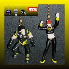 MARVEL HEROES CHARACTERS CEILING FAN PULLS (2 FIGURES) - X-MEN, WOLVERINE, ETC.
