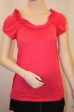 NEW BCBG MAXAZRIA RUFFLE-NECK BLOUSE TOP SIZE [XS/L]