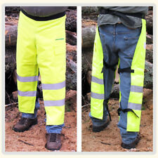 Safety Green Chainsaw chaps Apron Style