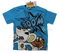 Boys Danger Mouse Boom Blue T Shirt Top Ages 4-12 Years
