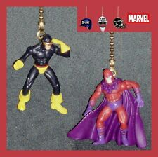 MARVEL X-MEN FIGURES FAN PULLS (CHOICE OF 2) -WOLVERINE, MAGNETO, CYCLOPS