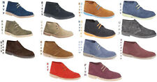 Mens New Suede Desert Boots Sizes 6 7 8 9 10 11 12