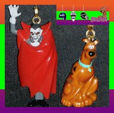 SCOOBY-DOO! CHARACTERS (2 FIGURES) FAN PULLS-WITCH DOC., FRANKENSTEIN'S MONSTER