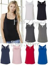 Bella Ladies 1×1 Rib Cotton Tank Top 1080 S-2XL NEW