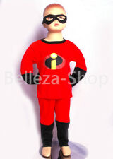 THE INCREDIBLES Cosplay Costume HALLOWEEN Fancy Party Outfit Kid Size 2T-7 FC008