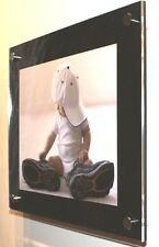 """GLOSS CHESHIRE ACRYLIC 10MM 12x14"""" picture PHOTO FRAME FOR A 8x10"""" PHOTO pixi"""
