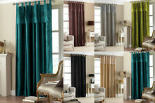 """NEW Taffeta Embroidered Sequins Tab Top Curtain 57x 90"""""""