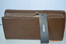 DKNY Luster Leather Classics Wallets  Brown or Black  NWT