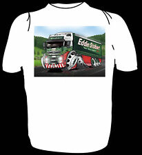 KOOLART KIDS TSHIRT - EDDIE STOBART VOLVO - ALL AGES #3