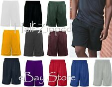 "Badger 9"" Inseam Pro Mesh Pocketed Short 7219 S-3XL NEW Shorts with Pockets"