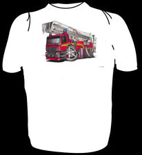 KOOLART TSHIRT - RED SIMON FIRE ENGINE - 6 SIZES