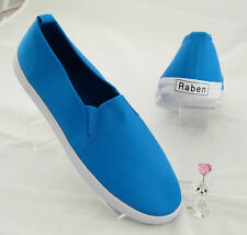 Raben Shoes Slip On - Turquoise - Size From 30 To 46