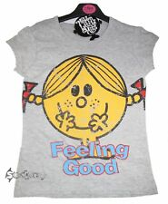 2 x Girls Little Miss Naughty T Shirts Tops 7-13 Years Mr Men Kids
