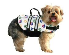 Nautical Dog Life Jacket - Designer Preserver - 4 Sizes