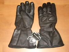 Mens Motorcycle Gauntlet Leather Insulated Winter Gloves LARGE XL XXL  FREE SHIP