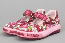 Lelli Kelly Milly Baby Dolly LK9403 Red Wine Mary Janes Floral Hand Beaded NEW