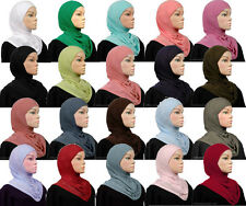 1 Piece Amira hijab underscarf hood cotton blend NEW pullover
